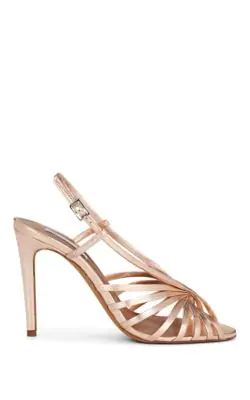 9d5b7434d5 Tabitha Simmons Women's Jazz Strappy Slingback High-Heel Sandals In Rose
