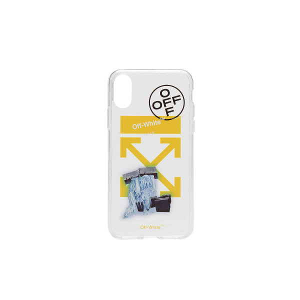 1359aff2fa93 Off-White Iphone X Ice Man Case In White