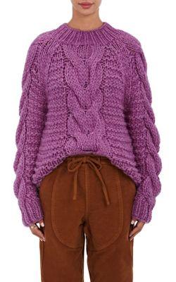 c14ea43a5206 Ulla Johnson Francisca Baby Alpaca Sweater