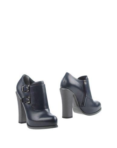 Fendi Ankle Boot In Dark Blue