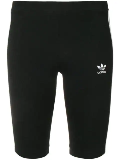 Adidas Originals Adidas Women's Originals Bike Shorts In Black Size Medium Cotton