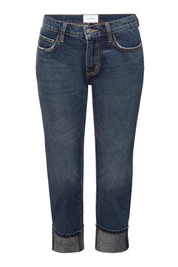 Current Elliott The Fling Straight Leg Jeans In Blue