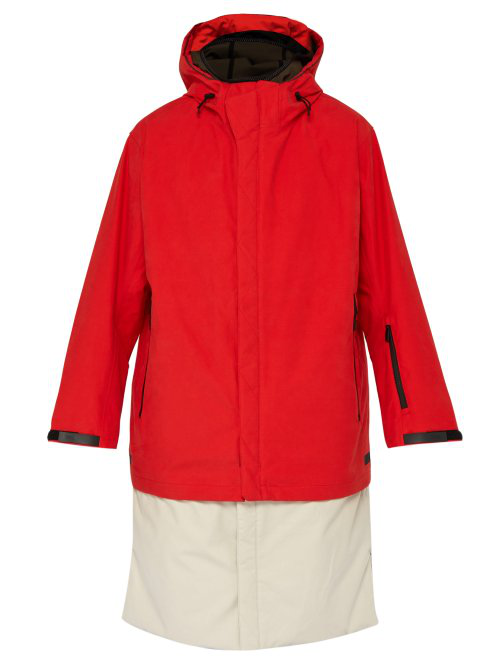 Templa 3L Tombra Cotton Blend Coat In Red