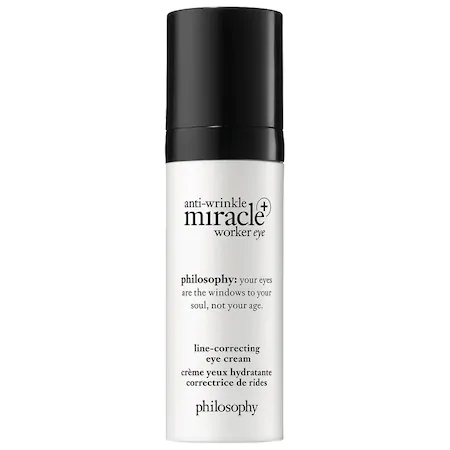 Philosophy Anti-wrinkle Miracle Worker Eye+ Line-correcting Eye Cream 0.5 oz/ 15 ml
