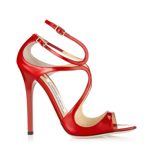 Jimmy Choo Lance In Red
