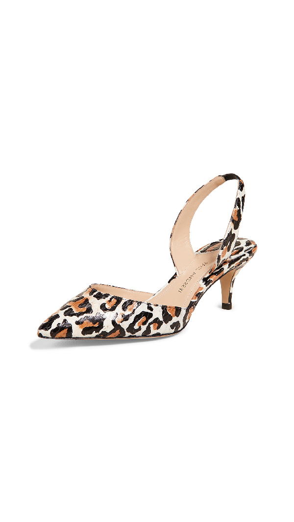 Paul Andrew Rhea 55 Slingback Pumps In Natural