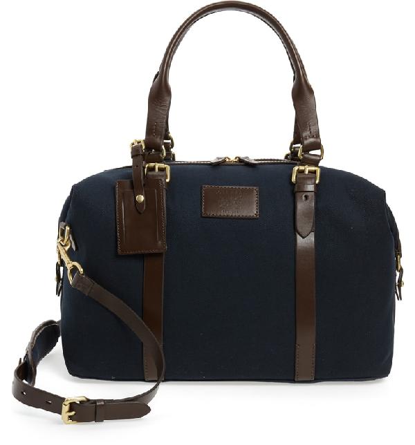 a3d51306950 Cole Haan Mathews Canvas Duffel Bag In Navy | ModeSens