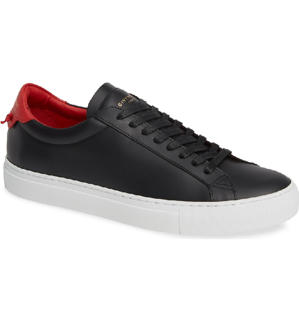 Givenchy Urban Knots Low Sneaker In Black/ Black