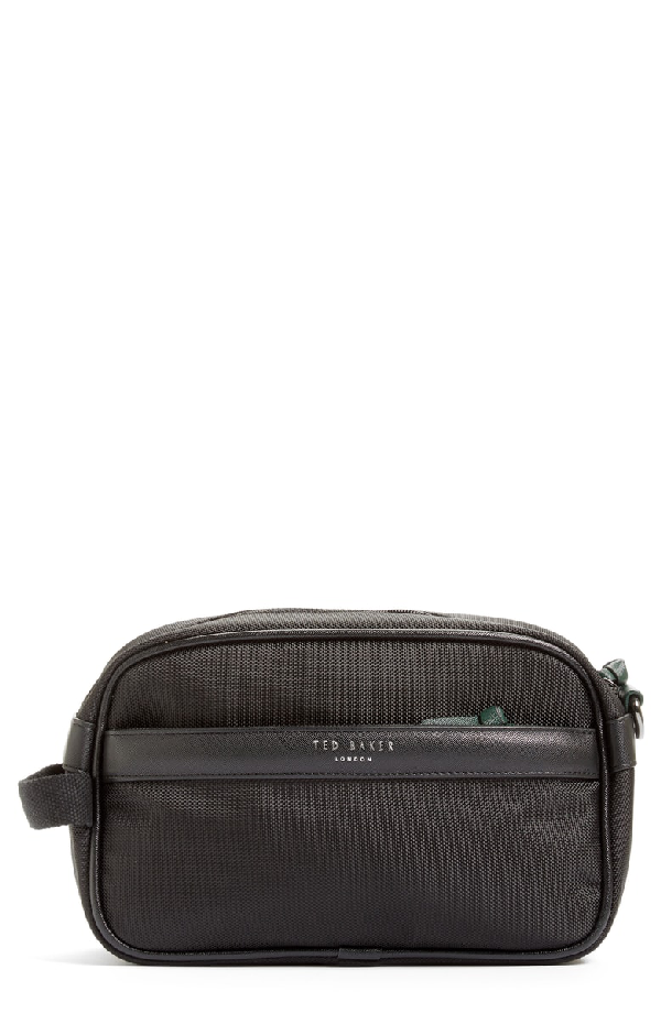 Ted Baker Granula Dopp Kit In Black