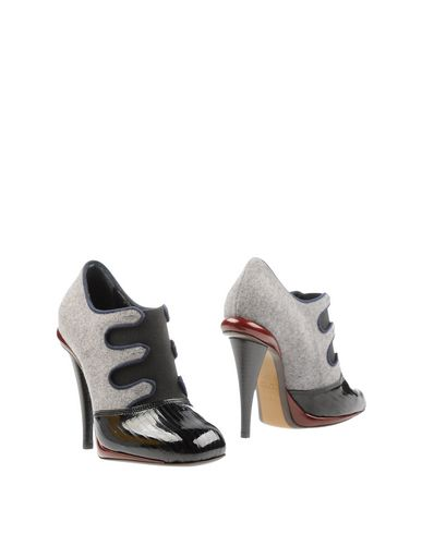 Fendi Ankle Boot In Grey