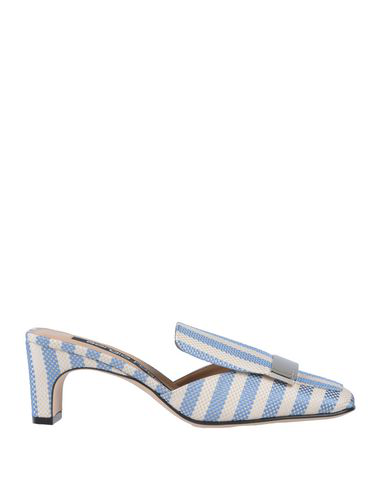 Sergio Rossi Mules In Blue