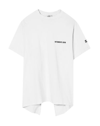 Vetements Printed T-shirt In White