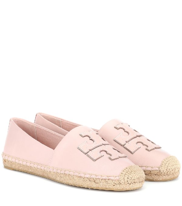978342bf6df3 Tory Burch Leather Espadrilles In Pink