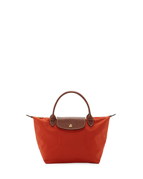 0dc5b1c932 Longchamp Le Pliage Mini Nylon Tote In Saffron | ModeSens
