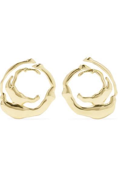 Ellery Coutts Gold-Tone Earrings