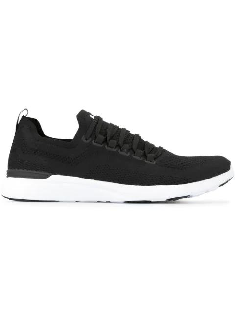 Apl Athletic Propulsion Labs Athletic Propulsion Labs Women's Techloom Pro Low-top Sneakers In Black