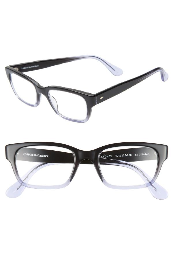 37d0708f9f23 Corinne Mccormack  Sydney  51Mm Reading Glasses - Black  Lilac Fade ...