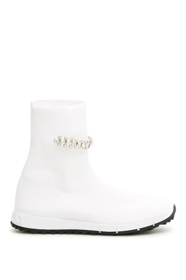 Jimmy Choo Regena Sneakers In White