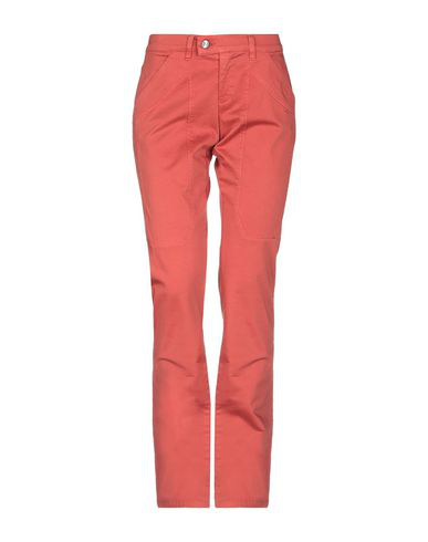 Jeckerson Casual Pants In Rust