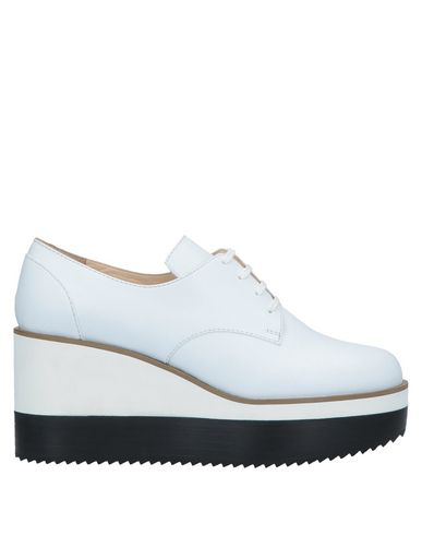 Jil Sander Lace-Up Shoes In White