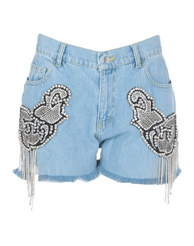 Marco Bologna Denim Shorts In Blue
