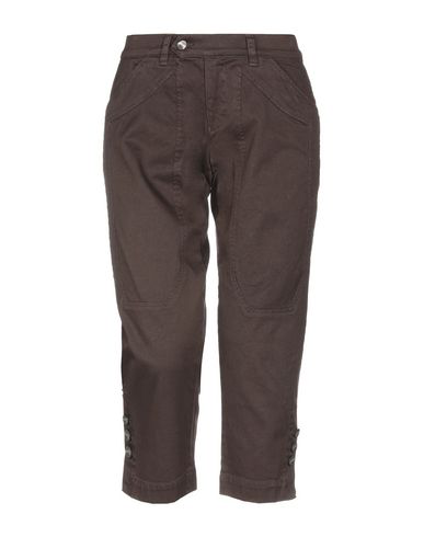 Jeckerson Denim Pants In Dark Brown