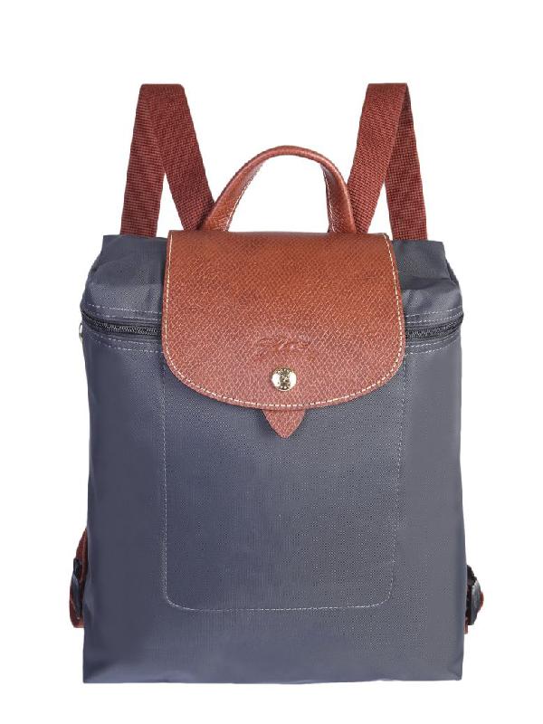 15cdda48c33 Longchamp Le Pliage Backpack In Grigio | ModeSens