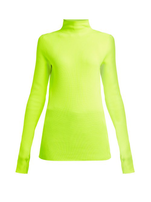 Helmut Lang - Essential Knit Top - Womens - Green