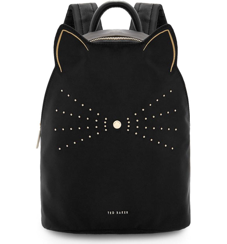 8f9adda21f05 Ted Baker Katt Nylon Backpack In Black