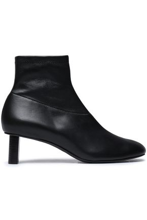 Joseph Woman Leather Sock Boots Black