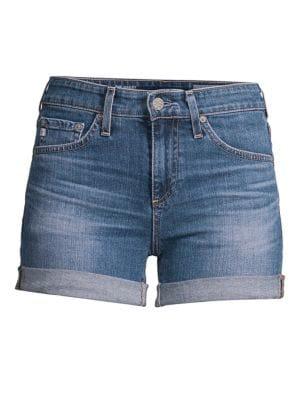 a1076164ec AG. Hailey Ex-Boyfriend Distressed Denim Shorts in 18 Year Indigo City
