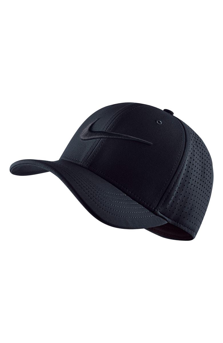 8f853fe7c04 Nike Dry Vapor Classic 99 Fitted Hat - Black In Black  Black