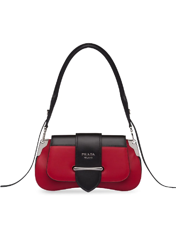 b3618bbf4f8e24 Prada Sidonie Leather Shoulder Bag In Red | ModeSens