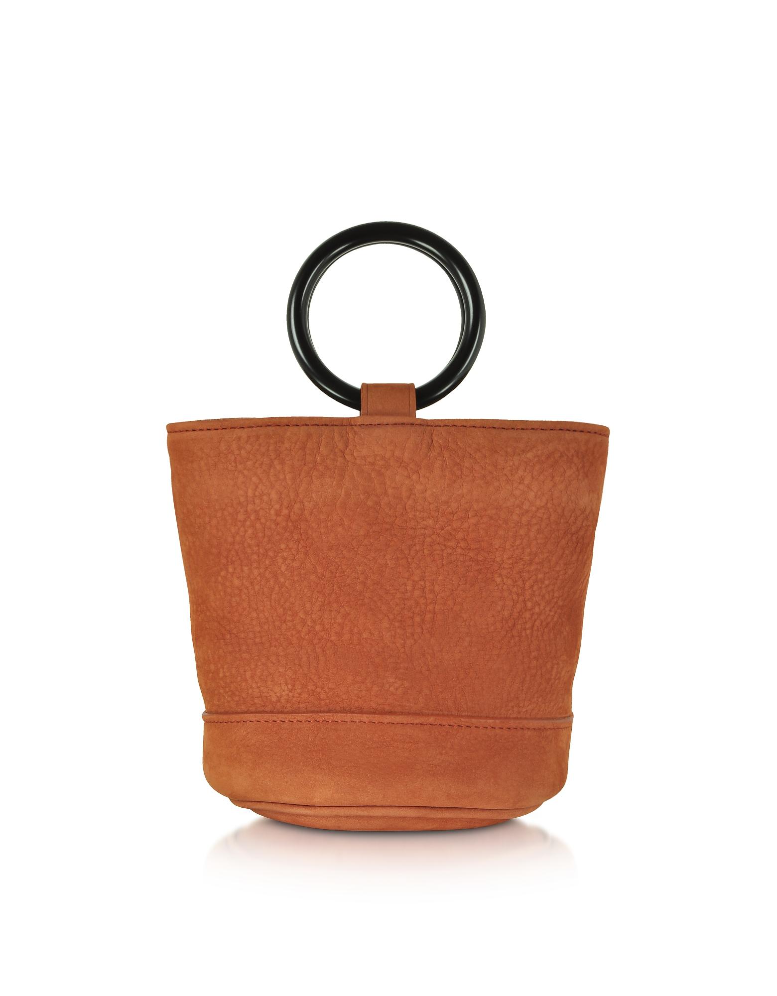 01eb1ad3aa2 Simon Miller S801 Rust Nubuck 15 Cm Bonsai Bag | ModeSens