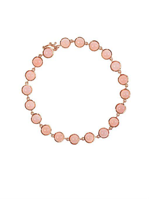 Irene Neuwirth Opal & 18kt Rose-gold Bracelet In Rose Gold