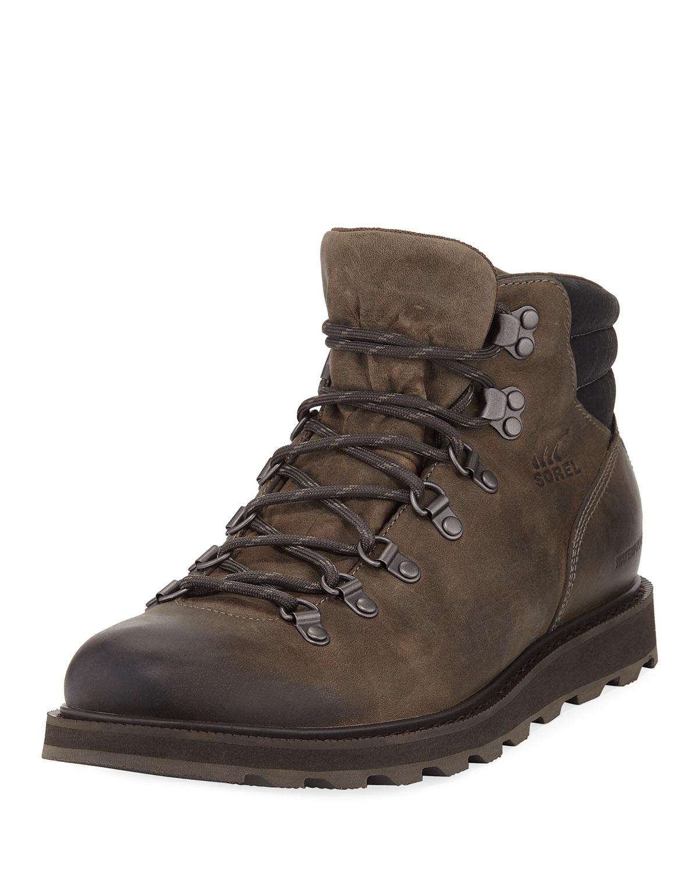 68ebbfac423 Madson Major Buffalo Waterproof Leather Hiker Boot in Brown