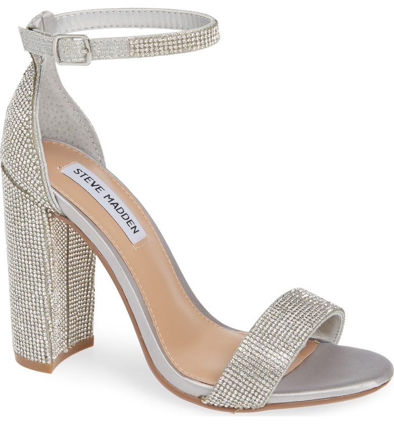 22baf4a4ba8 A minimalist ankle-strap sandal is set on a chunky heel. Style Name  Steve  Madden Carrson Sandal (Women). Style Number  5047376 14. Available in stores .