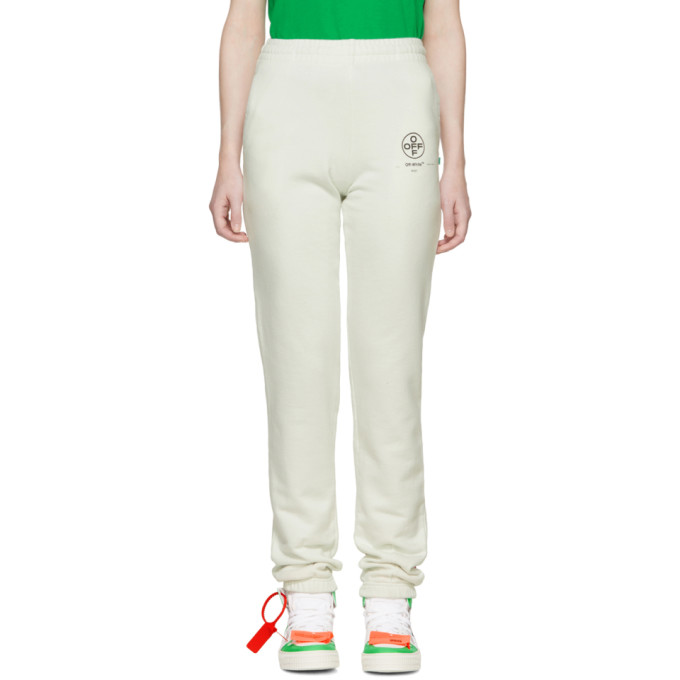 Off-White Diag Stencil Lounge Pants In Offwhite