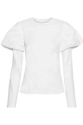 Beaufille Woman Nysa Linen-Blend Poplin Blouse White