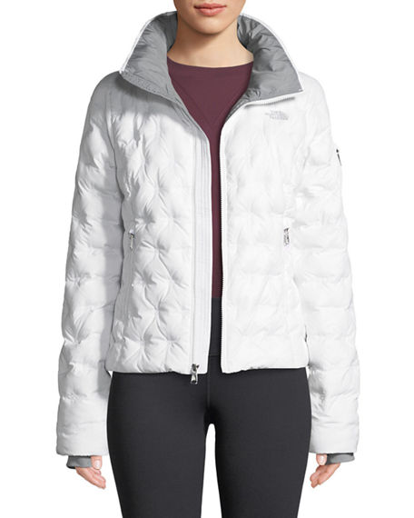 b70a41616 The North Face Holladown Pintuck-Quilted Crop Jacket In White | ModeSens