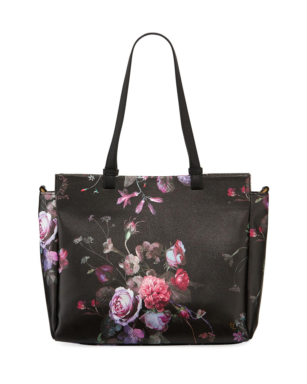 Elliott Lucca Feya Faux-Leather Tote Bag In Black