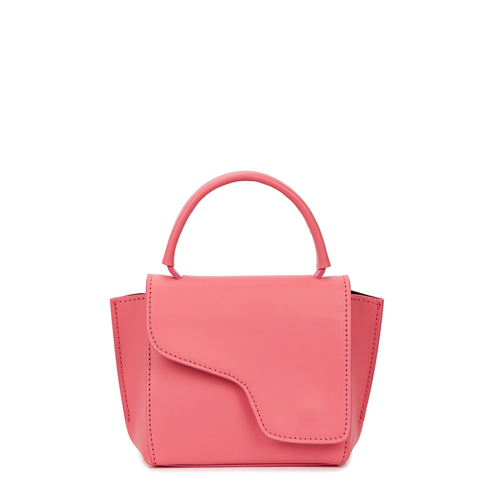 Atp Atelier Montalcino Pink Leather Cross-Body Bag
