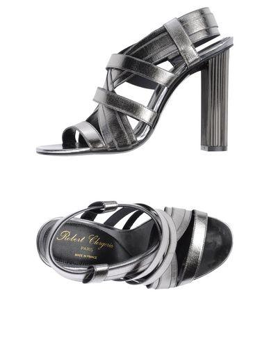 Robert Clergerie Sandals In Grey