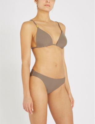a10b9202d3ba0 Calvin Klein Core Solids Triangle Bikini Top In 201 Falcon