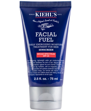 Kiehl's Since 1851 1851 Facial Fuel Daily Energizing Moisture Treatment For Men Spf 20, 2.5 Fl. Oz. In Us
