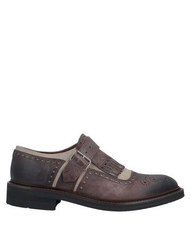 Eleventy Loafers In Dark Brown
