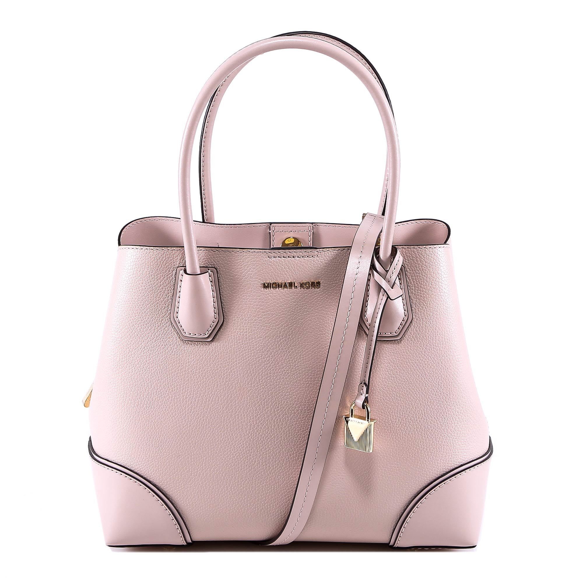 8160fe61e313 Michael Kors Logo Classic Shoulder Bag In Pink | ModeSens