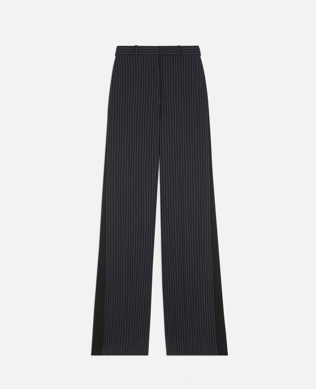 Stella Mccartney Wide Leg Trousers In Blue