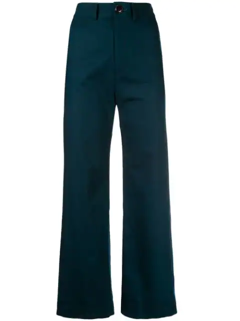 Sea Stevie Cotton Sailor Pant In Ink