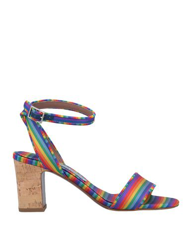Tabitha Simmons Women's Leticia Ankle Strap Block-Heel Sandals In Rainbow
